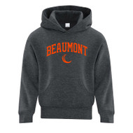 BEA ATC Youth Everyday Fleece Hooded Sweatshirt - Dark Heather Grey
