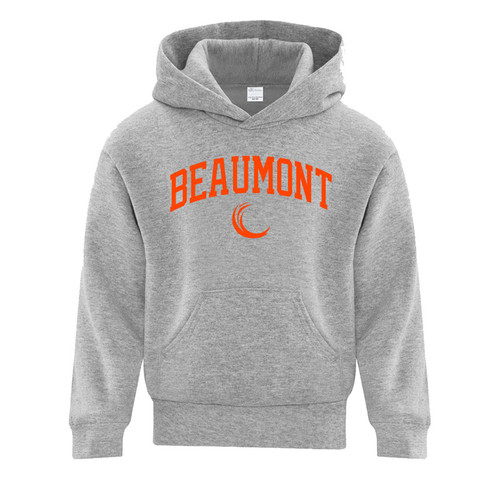 BEA ATC Youth Everyday Fleece Hooded Sweatshirt - Athletic Grey (BEA-303-AG)