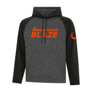 BEA ATC Men's Dynamic Heather Fleece Two Tone Hooded Sweatshirt