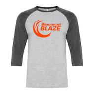 BEA ATC Men's Baseball T-Shirt - Athletic Grey