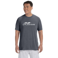 SMK Phys-Ed Gildan Men's Performance Short Sleeve T-Shirt - Charcoal