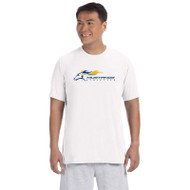 SMK Gildan Men's Performance Short Sleeve T Shirt - White (SMK-101-WH)