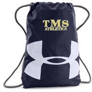 TMS Under Armour Ozee Team Sackpack - Navy (TMS-054-NY.UA-1240539-410-OS)