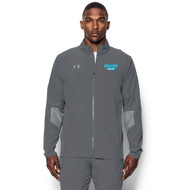 BHS Men's Under Armour Squad Woven Warm-Up Jacket - Graphite (BHS-101-GH)
