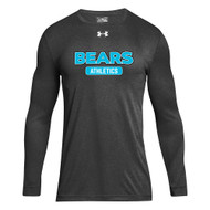 BHS Under Armour Men's Long Sleeve Locker T - Carbon (BHS-105-CB)