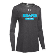 BHS Under Armour Women's Long Sleeve Locker T - True Grey (BHS-205-TG)