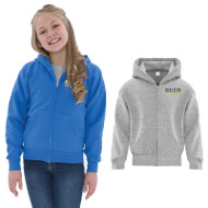 GCC ATC Everyday Fleece Full Zip Hooded Youth Sweatshirt (GCC-309)
