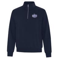 EDN ATC ES Active Vintage ¼ Zip Adult Sweatshirt - Navy (EDN-101-NY)