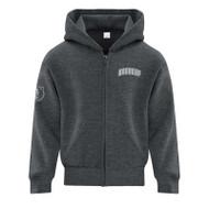 SJB ATC Everyday Fleece Full Zip Hooded Youth Sweatshirt - Dark Heather (SJB-303-DH)