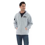 SJB ATC Everyday Fleece Full Zip Hooded Adult Sweatshirt - Athletic Heather (SJB-004-AH)