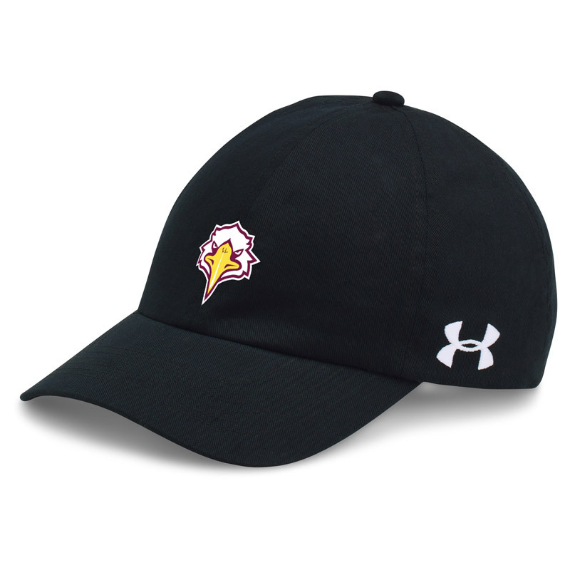334a6fc39b4 NLS Under Armour Chino Relaxed Team Cap - Black - SchoolWear.ca