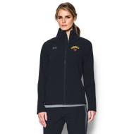 LKC Under Armour Women's Squad Woven Warm-Up Jacket - Black (LKC-205-BK)