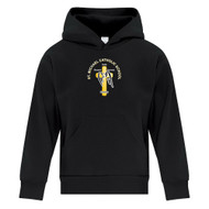 SMH ATC Everyday Youth Fleece hoody with CS Logo - Black (SMH-301-BK)