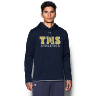 TMS Under Armour Men's Double Threat Hoodie - Navy (TMS-114.1295286-410)