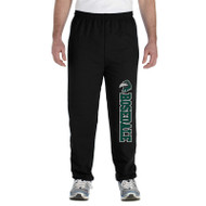 RHS Heavy Blend Closed Bottom Sweatpants - Black