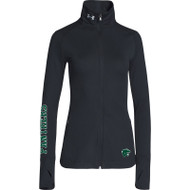 GLB Under Armour Women's Sporty Lux Warm-Up Jacket - Black (GLB-211)