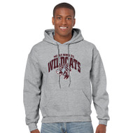 Maple Ridge Wildcats Adult Gildan Heavy Blend Pullover Hoody - Sport Grey (MRW-006)