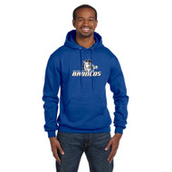 BSS Champion Men's EcoSmart Pullover Hoodie Sweatshirt - Royal (BSS-101-RO)