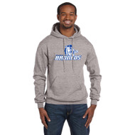 BSS Champion Men's EcoSmart Pullover Hoodie Sweatshirt - Light Steel Grey (BSS-101-ST)