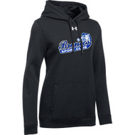 BSS Under Armour Women's Hustle Fleece Hoody - Black (BSS-202-BK)