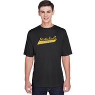 SMH Team 365 Adult Zone Performance SS Tee with Stingers Logo - Black (SMH-008-BK)