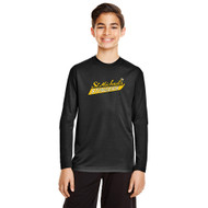 SMH Team 365 Youth Zone Performance LS T-Shirt with Stingers Logo - Black