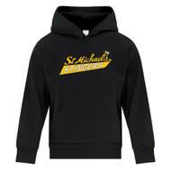 SMH ATC Everyday Youth Fleece hoody with Stingers Logo - Black (SMH-302-BK)