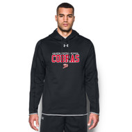 ACS Under Armour Men's Double Threat Fleece Hoody - Black (ACS-101-BK)