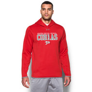 ACS Under Armour Men's Double Threat Fleece Hoody - Red (ACS-101-RE)
