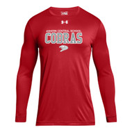 ACS Under Armour Men's Locker Tee 2.0 Long Sleeve - Red (ACS-103-RE)
