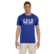 EDN ATC Men's Gildan soft style T-Shirt - Royal (EDN-102-RO)