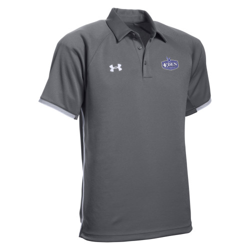 EDN Under Armour Men's Rival Polo - Graphite (EDN-103-GT)