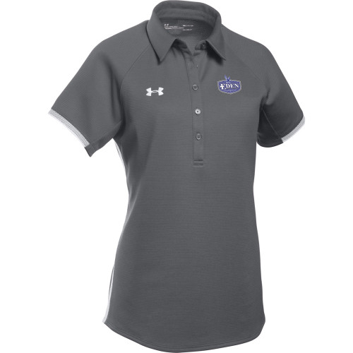 EDN Under Armour Women's Rival Polo - Graphite (EDN-203-GT)