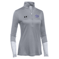 EDN Under Armour Women's Locker 1/2 Zip Jacket - Steel (EDN-204-ST)