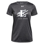EDN Under Armour Women's Short Sleeve Locker 2.0 Tee - Carbon (EDN-205-CB)