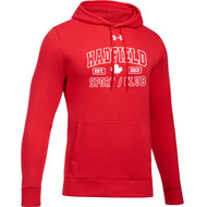 CHP Under Armour Men's Staff Hustle Fleece Hoody - Red (CHP-110-RE)