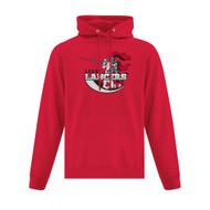 LCC ATC Adult Everyday Fleece Hooded Sweatshirt - Red (LCC-001-RE)