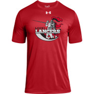 LCC Under Armour Men's Short Sleeve Locker 2.0 Tee - Red (LCC-102-RE)