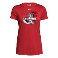LCC Under Armour Women's Short Sleeve Locker 2.0 Tee - Red (LCC-202-RE)