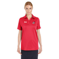 LCC Under Armour Women's UA Tech Polo - Red (LCC-204-RE)