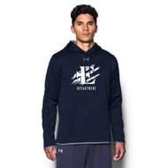 EDN Under Armour Men's Staff Double Threat Fleece Hoody - Navy (EDN-106-NY)