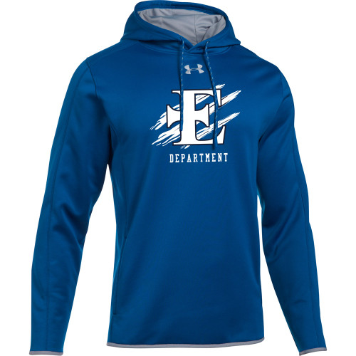 EDN Under Armour Men's Staff Double Threat Fleece Hoody - Royal (EDN-106-RO)