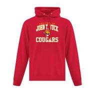 JTT ATC Adult Everyday Fleece Hooded Sweatshirt - Red (JTT-101-RE)