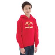 JTT ATC Youth Everyday Fleece Hooded Sweatshirt - Red (JTT-301-RE)