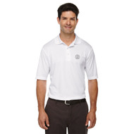 MRO Core 365 Men's Origin Performance Piqué Polo with Faith-Based Logo - White (MRO-103-WH)