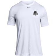 MRO Under Armour Men's Locker 2.0 Tee with Athletic Logo - White (MRO-104-WH)