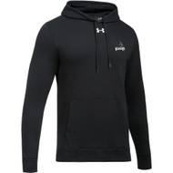 MRO Under Armour Men's Hustle Fleece Hoody with Athletic Logo - Black (MRO-105-BK)