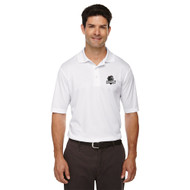 MRO Core 365 Men's Origin Performance Piqué Polo with Athletic Logo - White (MRO-106-WH)
