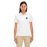 MRO Core 365 Ladies' Origin Performance Piqué Polo with Athletic Logo - White (MRO-206-WH)