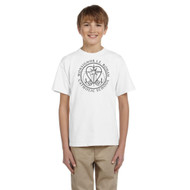 MRO Gildan Youth Ultra Cotton T-Shirt with Faith-Based Logo - White (MRO-307-WH)